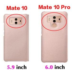 Image 2 - กระเป๋าสตางค์ฝาครอบหนังสำหรับ Huawei Mate 10 Pro Huawei Mate10 Mate10pro 10pro 360 ป้องกันสมาร์ทดู