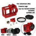 SJCAM SJ5000 WIFI действий камеры аксессуары металлический корпус Алюминиевый корпус Рамка для sj5000x sj5000 +