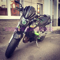 New For Kawasaki Z250 Z300 Z750 Z750R Z800 Z1000 bike motorcycle/motorbike Windshield/Windscreen BLACK