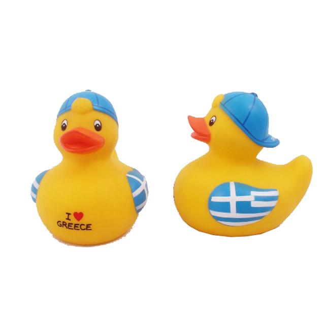 Muchachos de Las Muchachas de los niños Juguetes de Baño de Goma Squeaky Race Patos de Goma Flotando Baño Natación Juguetes De Plástico Envío Gratis