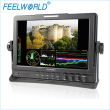 FEELWORLD fw1019 10.1 дюймов IPS поле Мониторы с сигнала vectorscope Цвет гистограммы 3G-SDI DSLR Камера внешний ЖК-мониторы