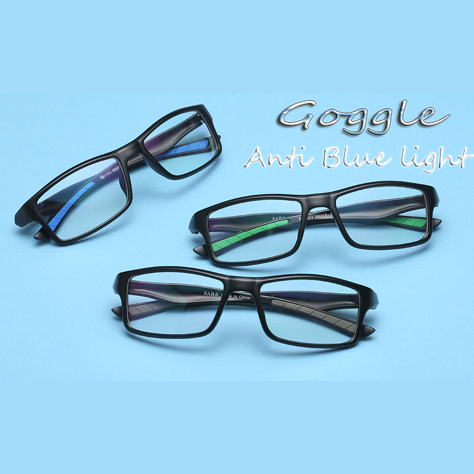 8e414fcafc Lunettes Anti Lumiere Bleue Proteccion Luz Azul Blue Ray Glasses Computer  Blue Light Blocking Glasses For Computer Protection-in Eyewear Frames from  Apparel ...