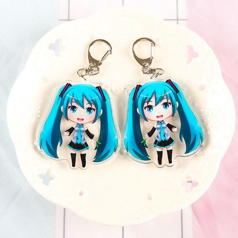 1-pc-lovely-anime-font-b-hatsune-b-font-miku-acrylic-keychain-bag-pendant-car-key-accessories-japanese-double-sided-keyring-figure-toy