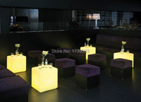 25CM Magic Dice Waterproof LED Remote Controll Square Cube Lumineux Light For Home Bar Cafe House