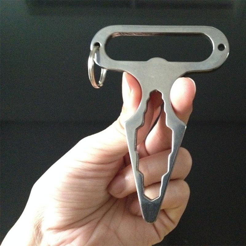 Multifunktions-Haarnadel Stainless Steel EDC Survival A Self-Defense Tool
