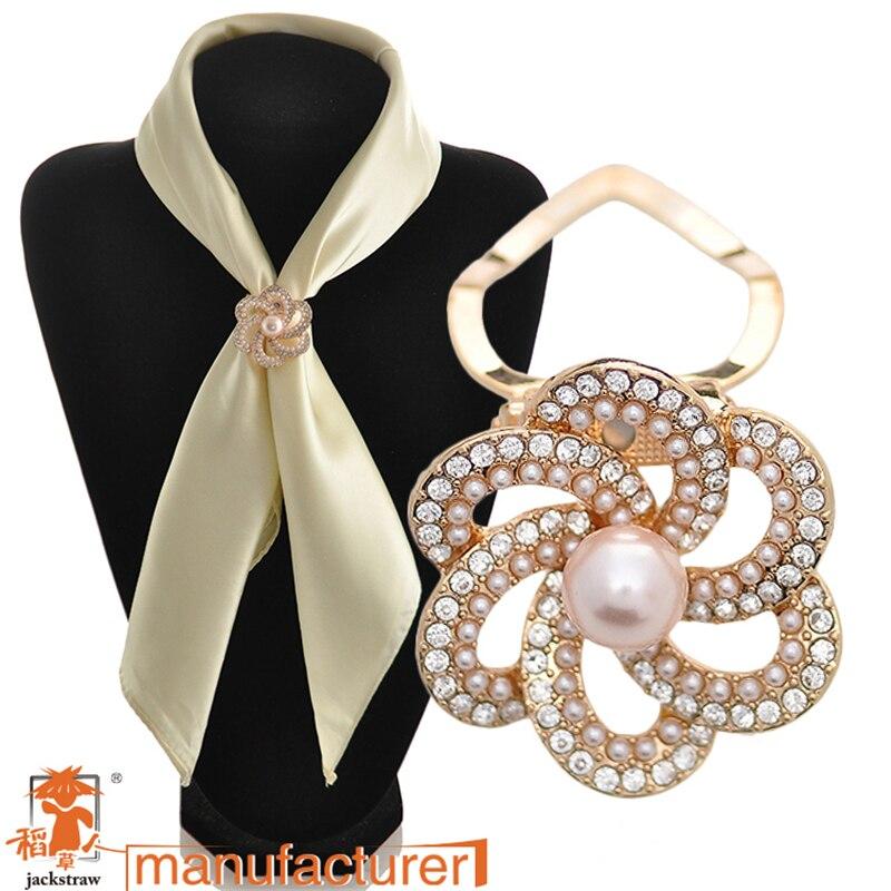 2018 date de mariage accessoires corsage conseils perle broches pins mode  femme strass fleur foulard de soie boucle 07f5346b782