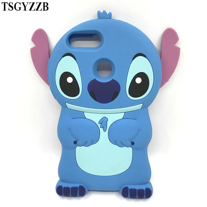 69ceb160c29 ... Case For Huawei Honor 9 Lite Silicone Phone Back Cover Stitch Cat  Unicorn Soft Silicone Shells ...