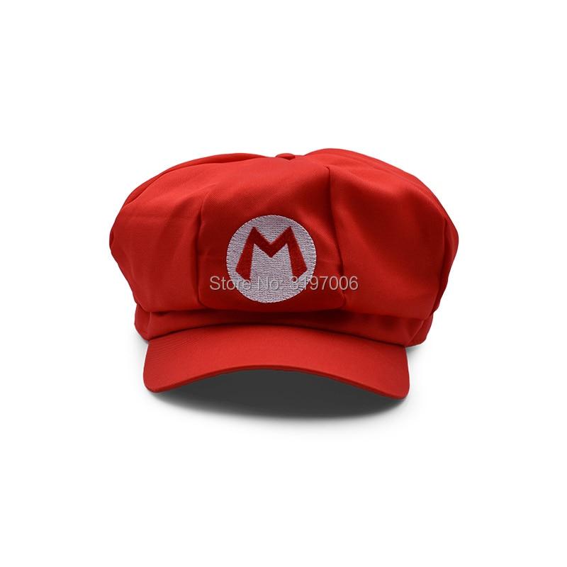 4d6b70766a96b8 Aliexpress.com : Buy 5 Colours Anime Super Mario Hat Cap Luigi Wario  Waluigi Bros Cosplay Baseball Costume Cartoon Hats Plush Toys from Reliable  Cartoon ...