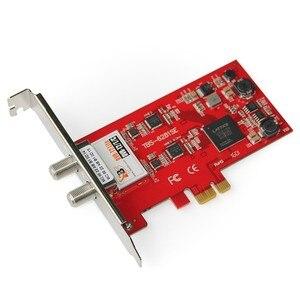 Image 2 - TBS6281SE DVB T2/T/C デュアルチューナーの Pcie カード楽しむ FTA 地上デジタル/ケーブル FTA テレビとデジタルステレオ Pc 上でラジオ