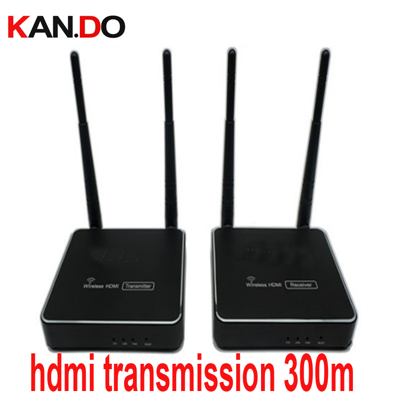 216W300 300M Wireless HDMI Extender Transmitter Receiver Kit Up To 300M 5.8G Hdmi Transmission HDMI Video Sender