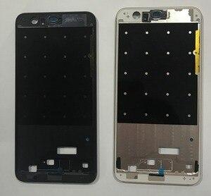 Image 3 - Huawei 명예를위한 ESC 8 중간 프레임 하우징 플레이트 Huawei 명예를위한 베젤 커버 케이스 8 프레임 + sim 카드 슬롯 홀더 + 사이드 버튼