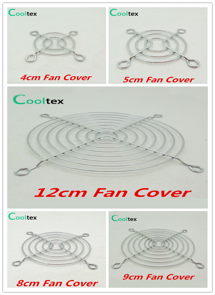 100% New  Fan Cover Shield  Iron Net  Protection Net  Dust Filter Protective Grille For Dc&ac Fans Cooling