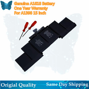 """Image 1 - GIAUSA New A1618 Battery For APPLE MACBOOK PRO 15"""" A1398 2015 YEAER 99.5wh"""