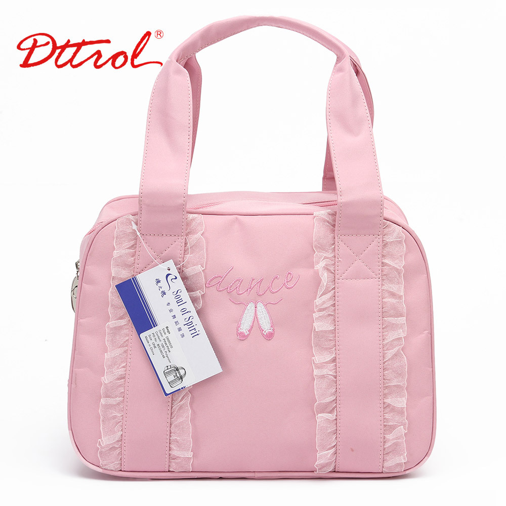 Dttrol Little S Kids Pink And Black Fairy Ballet Dance Tote Bag D005520 In Top Handle Bags From Luggage On Aliexpress Alibaba