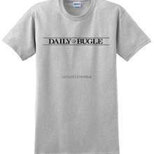 bcabac569 NEW Daily Bugle Newspaper Peter Parker Spiderman homecoming T-shirt Tee (China)