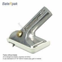 BateRpak алюминиевая ручка лист Пол Резак, ПВХ пол стены резак края(без лезвия