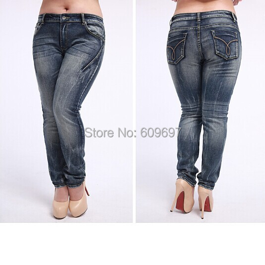 Aliexpress.com : Buy Plus Size 31 40 (Waist 38 inch) Woman jeans ...