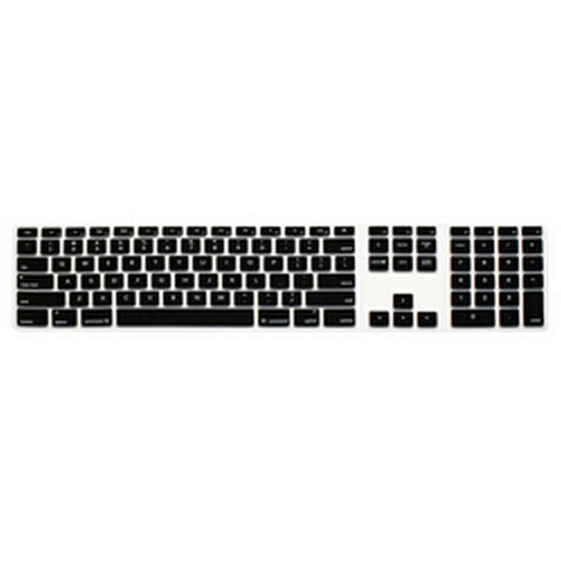 Computer Desktop Color Silicone Keyboard Cover Skin Protector with a Numeric Keypad for  ...