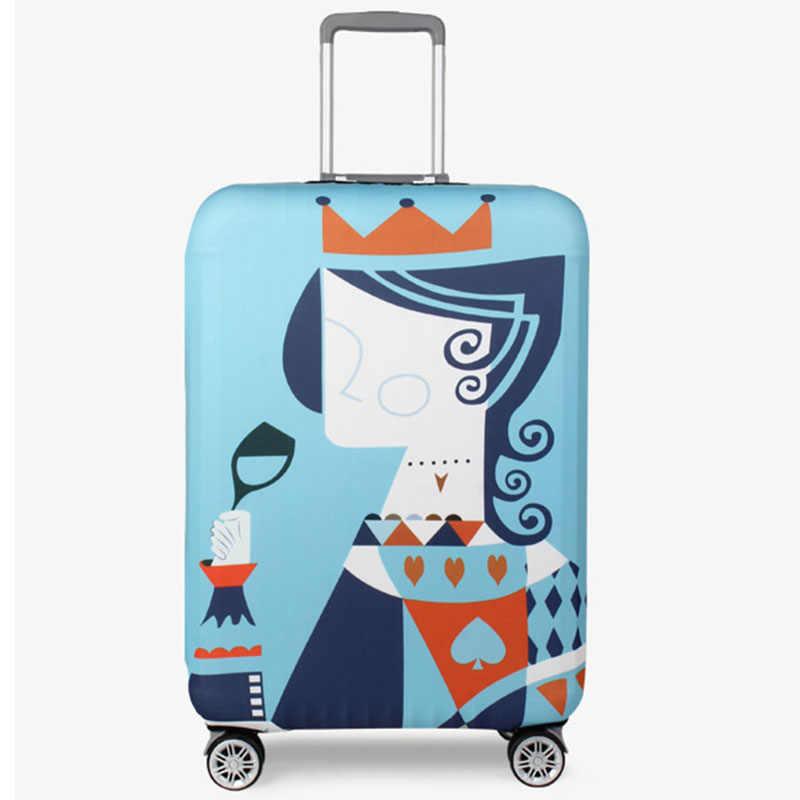 HHYUKIMI Reise koffer staub abdeckung elastische schutzhülle gepäck abdeckung 18-32 zoll verdickung abdeckungen für trolley