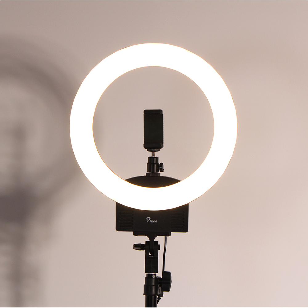 13 Inch Photo Studio lighting LED Ring Light 240PCS Bulbs 3200 5600k Photography Dimmable Ring Lamp With Tripod for Video Makeup in Photographic Lighting from Consumer Electronics