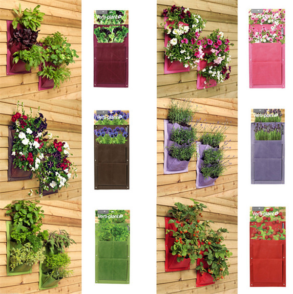 Aliexpress.com : Buy Living Wall Planter Mini Wally Woolly Plant Pocket  Planting Pot From Reliable Pot Painting Suppliers On Ihome Art