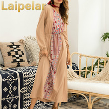 Boho Women Long Dress Elegant Vintage Flower Print Sexy Shift Dress Long Sleeve Bardot O Neck Casual Party Maxi Dress Laipelar plus flower applique knot bell sleeve bardot dress