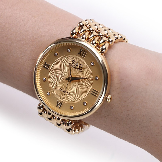 Brand New 2016 Fashion Watch Luxury Brand Ladies Quartz Watch Wristwatch Women D