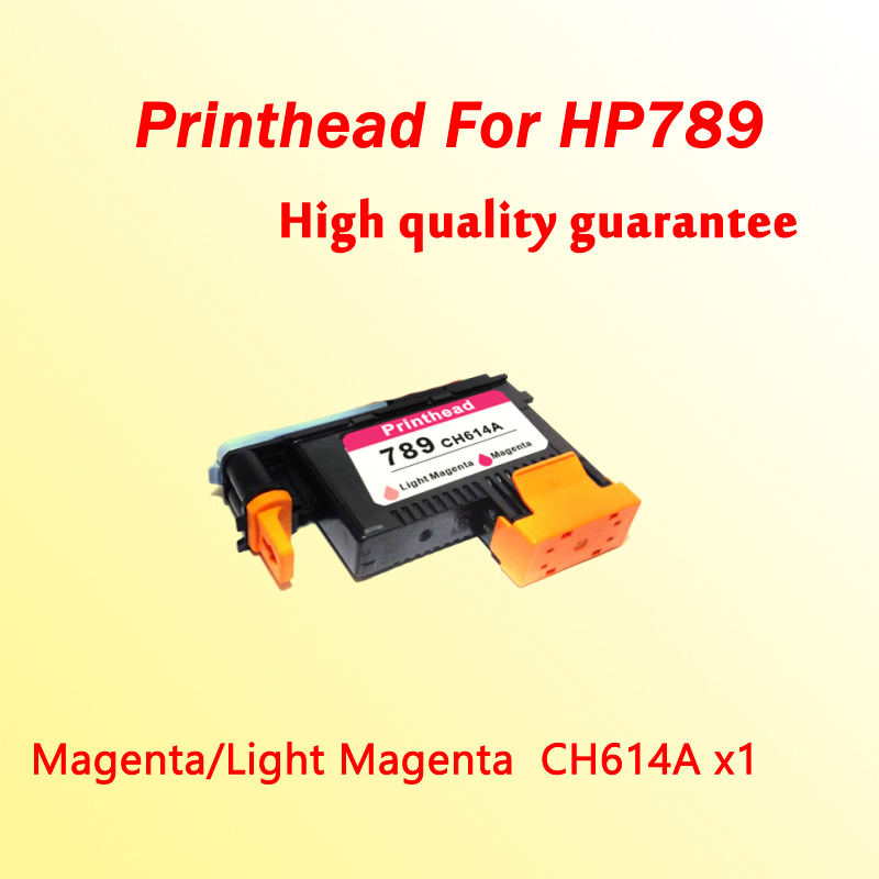 1PCS CH614A Magenta/Light Magenta printhead for hp789 L25500 printer  1x 789 printhead yellow black for hp 789 l25500 printer head ch612a