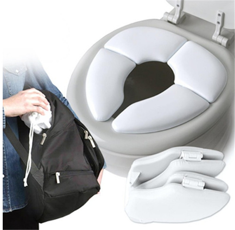 Superb Portable Folding Children Toilet Seat Cover In Toilet Seat Evergreenethics Interior Chair Design Evergreenethicsorg
