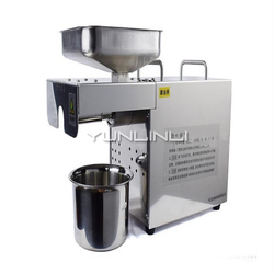 Stainless Steel Oil Press Machine Multi-functional Oil Expeller Commercial Household Oil Extractor JYY2088