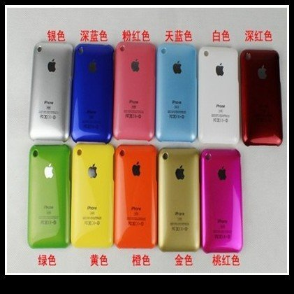 Free shipping for iphone 3G 3GS mobile phone housing Hot stamping shell mobile phone cover