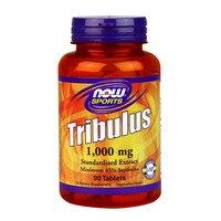 Free Shipping NOW Foods Tribulus 1000 mg standardized extract minimum 45% saponins 90 pcs