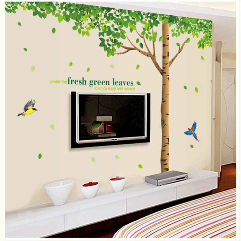 Unique Kids Room: Tree Picture Wallpaper For Kids Room Decoration Unique