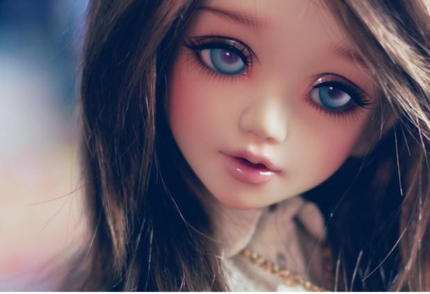 Free Shipping 1/4 BJD Doll BJD / SD Doll Fashion Reborn Doll Makeup For Baby Girl Gift