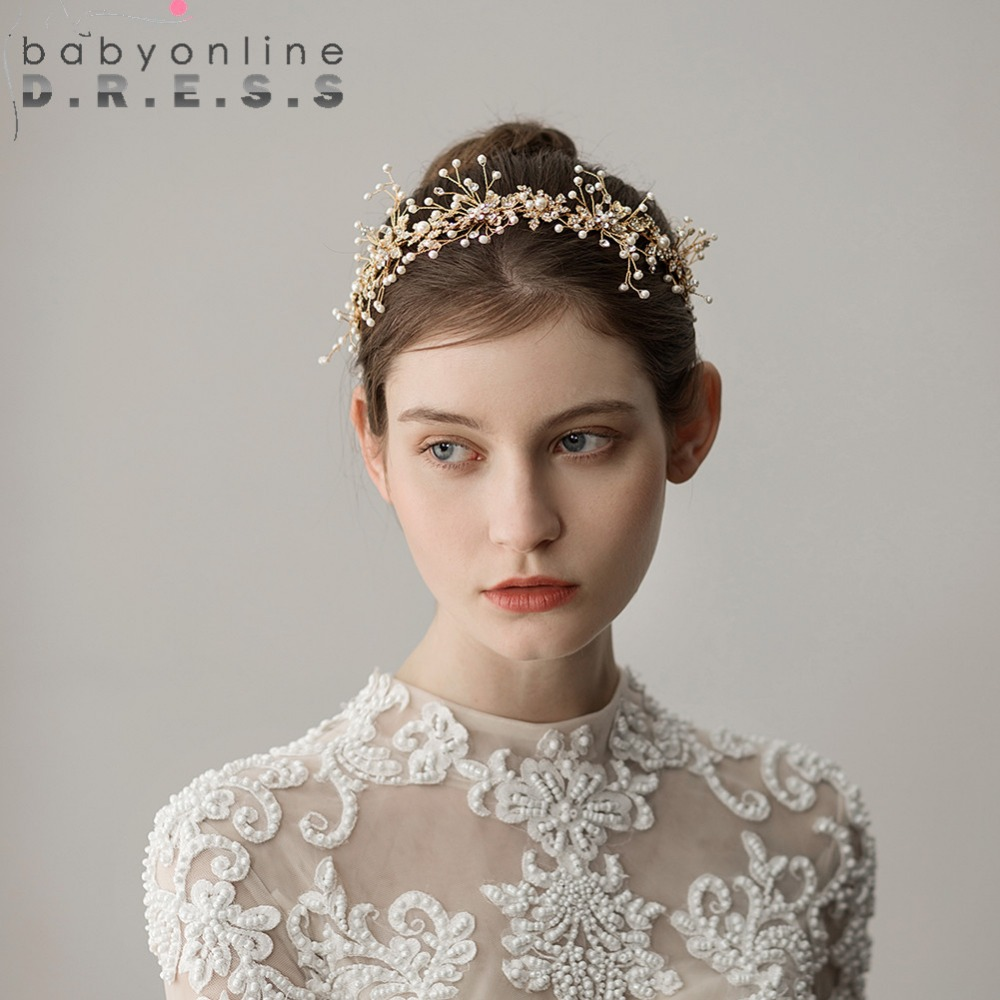 metal vintage luxury bridal headwear wedding hair