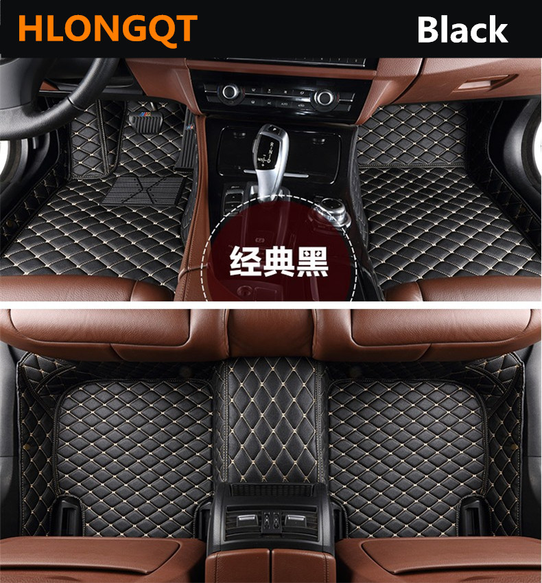 Auto Floor Mats For TOYOTA RAV4 2013.14.2015.2016.2017 Foot Carpets Car Step Mats High Quality Brand New Embroidery Leather Mats цены онлайн