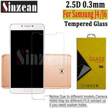 Sinzean 100 1 個の新しい 2018 サムスン J4/J4 プラスクリア強化ガラス J6/J6 プライムスクリーンプロテクターフィルム 2.5D 9 h