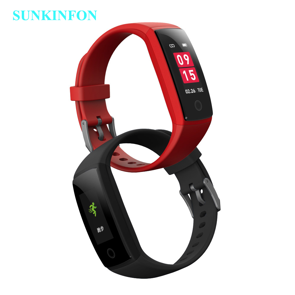 Colorful Smart Wristband Fitness Bracelet Heart Rate Monitor Band Acitivity Track Pedometer Blood Pressure for iPhone 5S 5C 5 SE цена
