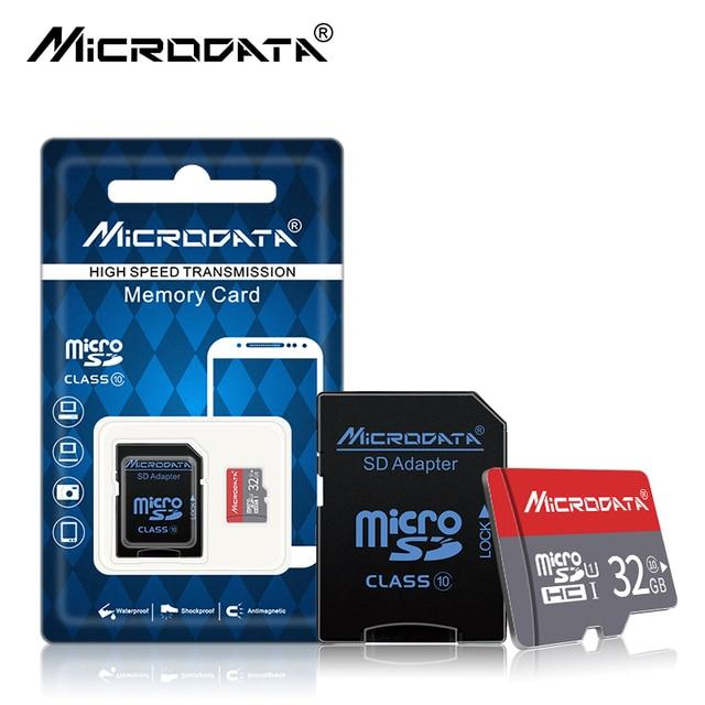 100% Genuíno da classe 10 64 gb gb gb 8 16 32 gb 4g cartão Micro sd SDHC/SDXC UHS-I UHS-1 TF cartões Micro SD Cartão de Memória com adaptador SD