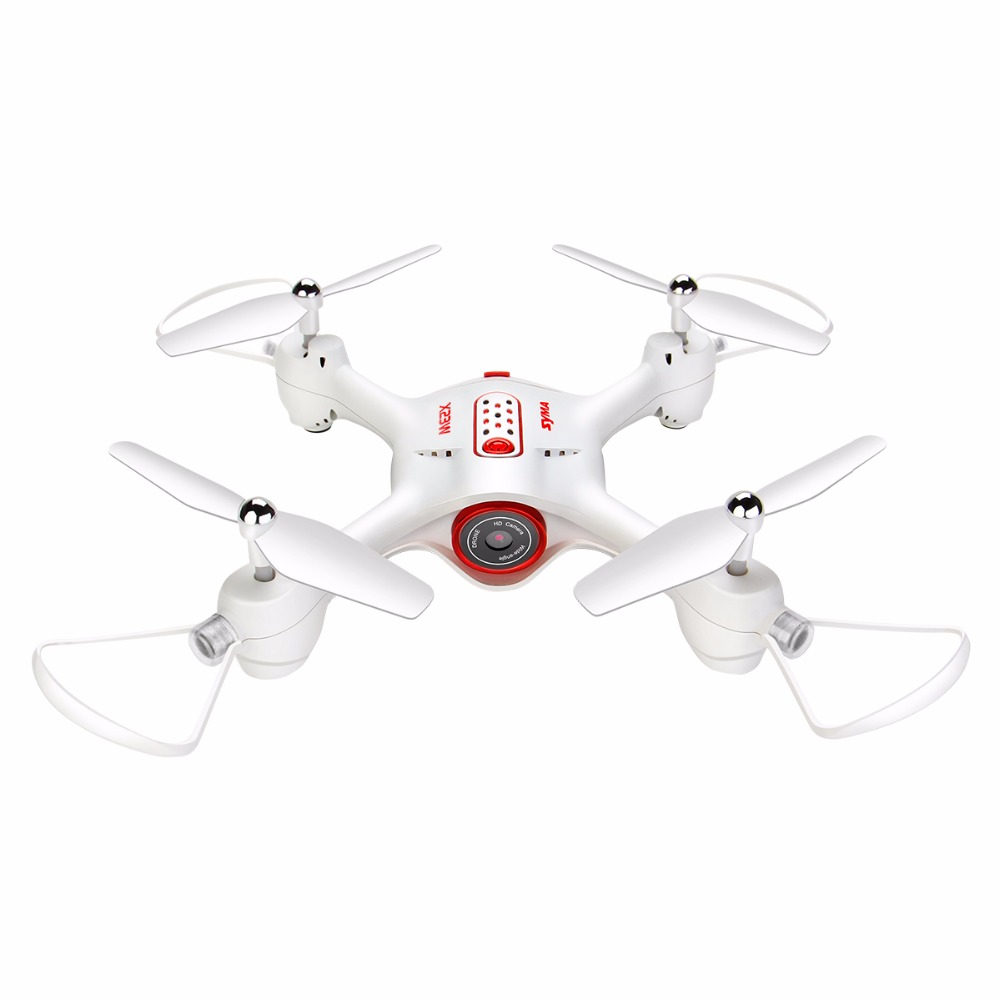 SYMA X23W RC Drone Airplane With Camera FPV Wifi Transmission 3D Roll Headless Mode Hover Function Quadcopter Aircraft Toys Gift