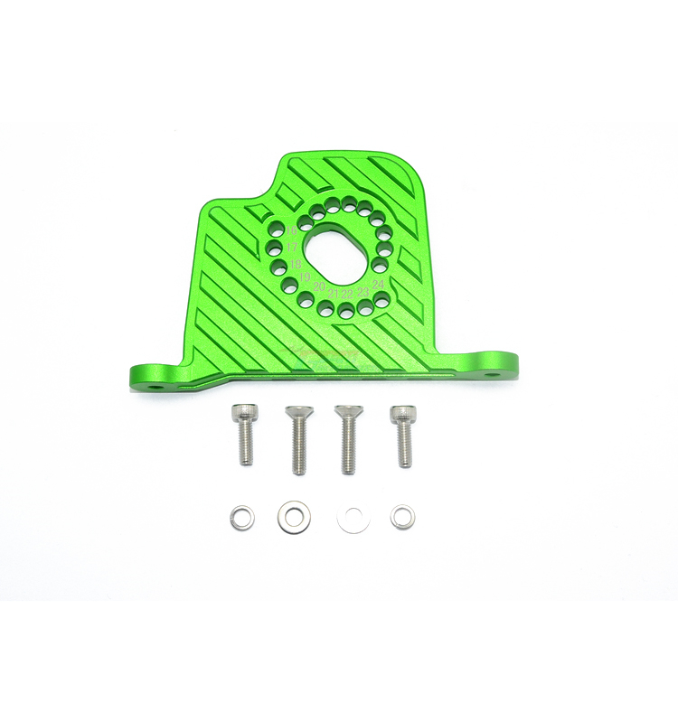 Alloy Motor Mount Plate with Heat Sink Fins for Traxxas TRX4 Scale Trail Crawler