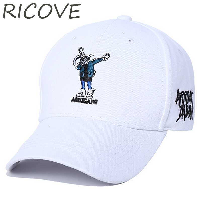 Bugs Bunny Dad Hat Trucker Caps Men Streetwear Black Baseball Cap Summer Embroidery Snapback Hip Hop Women Adjustable Sun Hats