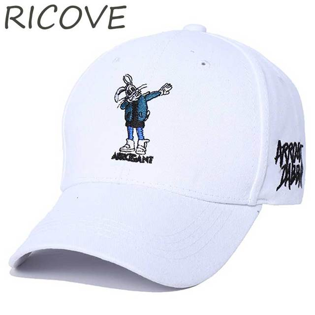 b6674e660cd Bugs Bunny Dad Hat Trucker Caps Men Streetwear Black Baseball Cap Summer  Embroidery Snapback Hip Hop Women Adjustable Sun Hats