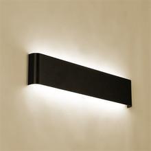Современный минимасветодиодный листичный светодиодный алюминиевый светильник прикроватный светильник Настенный светильник для ванной комнаты зеркало свет прямой креативный проход