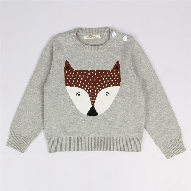 92bd0cb12 Campure Baby Sweater 2016 Boys Sweaters Baby Girls Autumn Winter ...