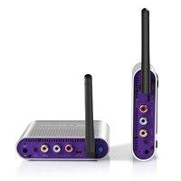 measy AV230 2.4GHz 8 Channel Wireless Audio Video AV Transmitter Sender Receiver support IR US Plug