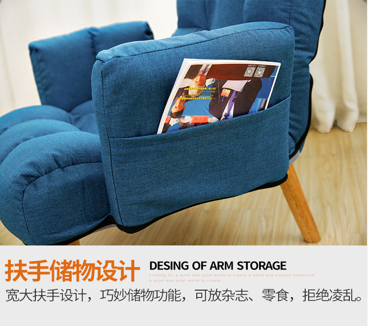 Lounger Sofa Single Bed Chair Foldable And Open Window
