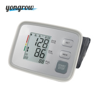 Yongrow Medical Arm Blood Pressure Monitor Automatic Cuff Upper LCD Digital Blood Pressure Monitor Blood Pressure