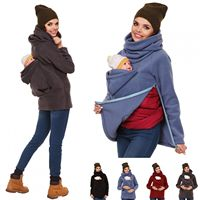 3 In 1 Multi functional Mother Kangaroo Autumn Winter Maternity Women 's Clothing Thickened Pregnancy Wearing Coat