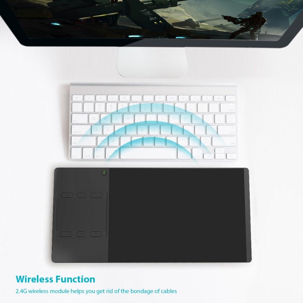 Huion INSPIROY G10T Yeni Rəqəmsal Tablet Simsiz Qrafik Rəsm Tablet - Kompüter periferikler - Fotoqrafiya 3